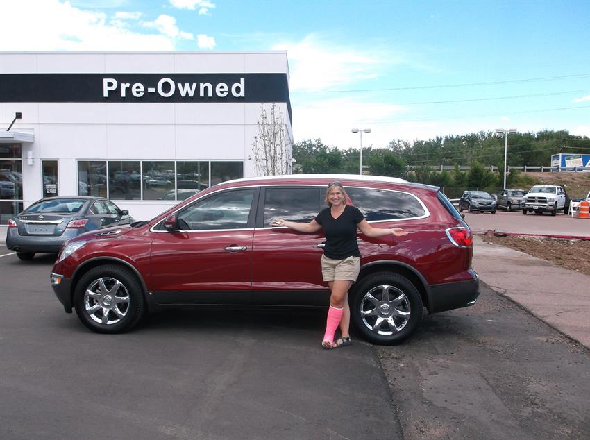 Mike Shaw Buick Gmc >> Ronald and Joy's new 2009 BUICK ENCLAVE! Congratulations ...