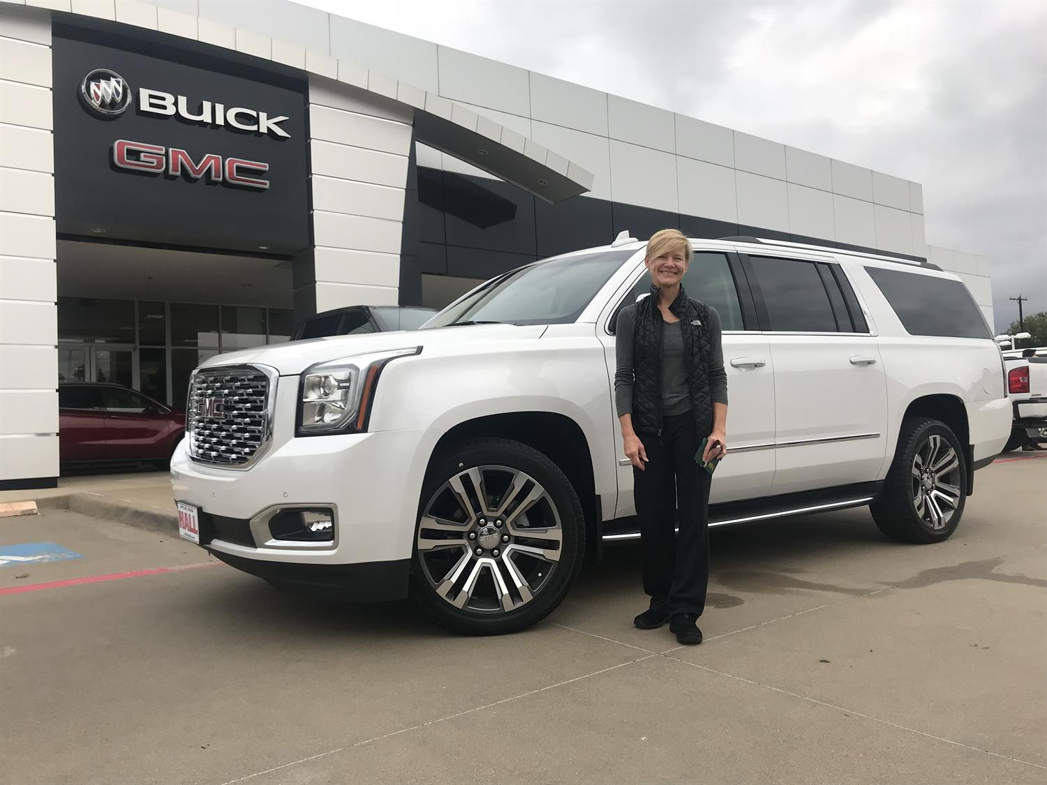 Awesome Congratulations To Christy On Your New 2018 Gmc Yukon Xl
