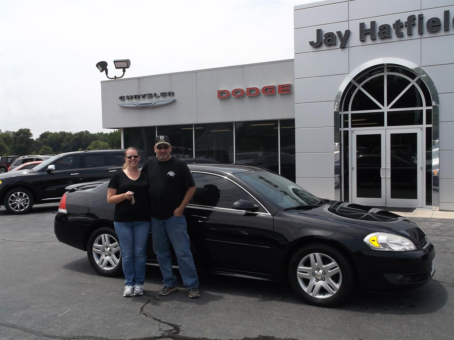 Congratulations To John And Linda Hunter On Their Purchase